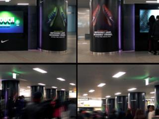 나이키 FLYKNIT 인터랙티브 광고
