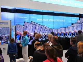 삼성전자 베를린 IFA 멀티 스크린쇼 어플리케이션 및 키오스크